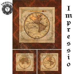 17320. Декупажная карта Impressio, плотность 45 г/м2
