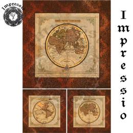 17321. Декупажная карта Impressio, плотность 45 г/м2