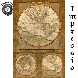 17322. Декупажная карта Impressio, плотность 45 г/м2
