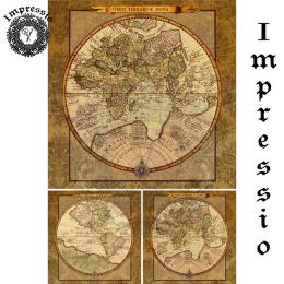 17323. Декупажная карта Impressio, плотность 45 г/м2