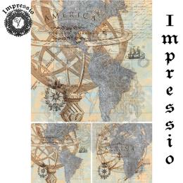 17324. Декупажная карта Impressio, плотность 45 г/м2