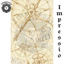 17327. Декупажная карта Impressio, плотность 45 г/м2