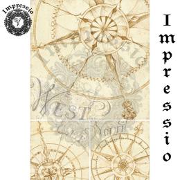 17328. Декупажная карта Impressio, плотность 45 г/м2