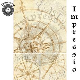 17329. Декупажная карта Impressio, плотность 45 г/м2