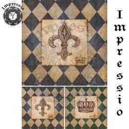 17341. Декупажная карта Impressio, плотность 45 г/м2