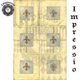 17347. Декупажная карта Impressio, плотность 45 г/м2