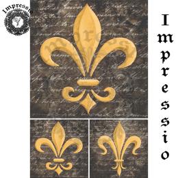 17351. Декупажная карта Impressio, плотность 45 г/м2