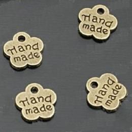 hm-1. Подвеска,  античная бронза. Handmade  50 шт., 3,5 руб/шт