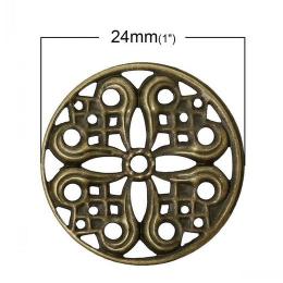 hm-1032. Декоративный элемент круглый. 100 шт., 7 руб/шт