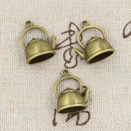 hm-1250. Подвеска Чайник, цвет бронза, 5 шт., 27 руб/шт
