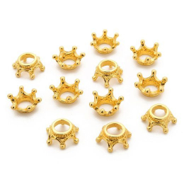 hm-1414. Декор Корона, цвет золото. 100 шт., 7 руб/шт.