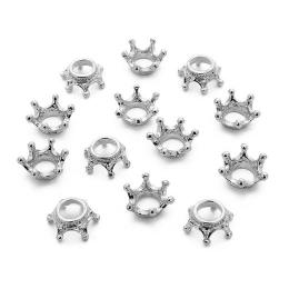 hm-1491. Декор Корона, цвет черненое серебро. 100 шт., 7 руб/шт