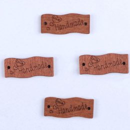 hm-1752. Табличка Handmade. 200 шт., 4 руб/шт.