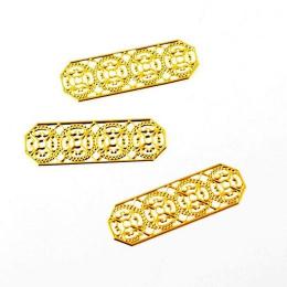 hm-1820. Декор цвет золото. 50 шт., 8 руб/шт