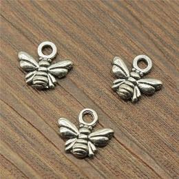 hm-1933. Подвеска Пчелка, цвет серебро. 200 шт., 3 руб/шт