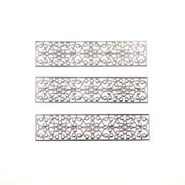hm-2001. Декор, цвет серебро