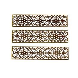 hm-2002. Декор, цвет бронза. 5 шт.,  28 руб/шт