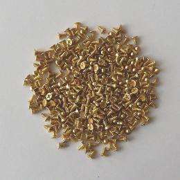 hm-2045. Шуруп, цвет золото. 100 шт., 2,5 руб/шт