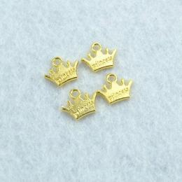 hm-2104. Подвеска Корона принцессы, золото. 20 шт., 9 руб/шт