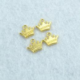 hm-2104. Подвеска Корона принцессы, золото. 100 шт., 7 руб/шт