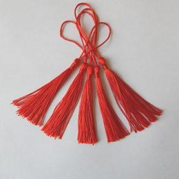 hm-2123. Кисточка, цвет красный. 20 шт., 9 руб/шт