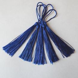 hm-2124. Кисточка, цвет синий. 10 шт., 10 руб/шт