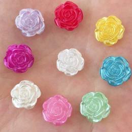 hm-2156. Кабошон Роза, микс блестящие. 5 шт., 10 руб/шт