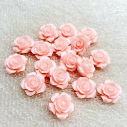 hm-2182. Кабошон Роза, абрикосовый. 50 шт., 12 руб/шт