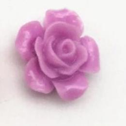 hm-2231. Кабошон Роза, сиреневый. 100 шт., 8 руб/шт