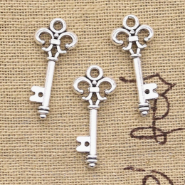 hm-2265. Ключ, цвет серебро. 5 шт., 10 руб/шт