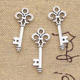 hm-2265. Ключ, цвет серебро.