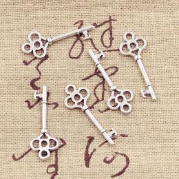 hm-2266. Ключ, цвет серебро. 20 шт., 7 руб/шт