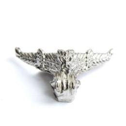 hm-2282. Ножка для шкатулки, серебро. 4  шт.,  46  руб/шт
