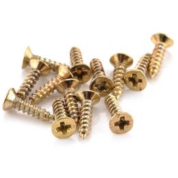 hm-2297. Шуруп, золото. 10 шт., 3,3 руб/шт
