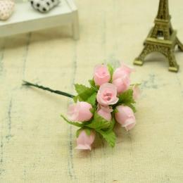 hm-2311. Букет цветов, 12 шт., светло сиреневый