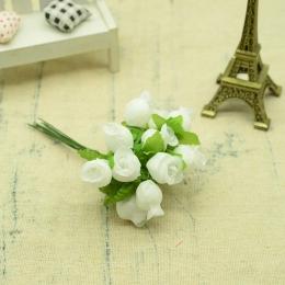 hm-2313. Букет цветов, 12 шт., белый