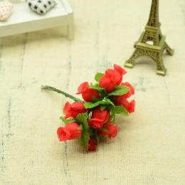 hm-2314. Букет цветов, 12 шт., красный