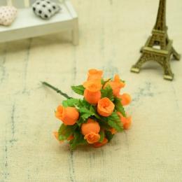 hm-2315. Букет цветов, 12 шт., морковный