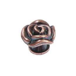 hm-2399. Ручка кнопка «Роза», медь.