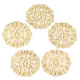 hm-2414. Декоративный элемент, золото. 5 шт., 17 руб/шт