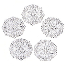 hm-2415. Декоративный элемент, серебро. 10 шт., 15 руб/шт