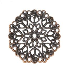 hm-2416. Декоративный элемент, цвет медь. 10 штук, 15 руб/шт