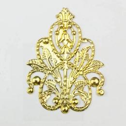 hm-2417. Декоративный элемент, цвет золото. 50 шт., 12 руб/шт