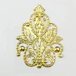 hm-2417. Декоративный элемент, цвет золото