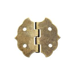 hm-2475. Петля, бронза, 4 шт., 35 руб/шт