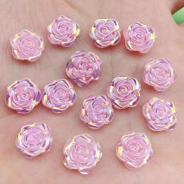 hm-2514. Кабошон Роза, перламутрово-розовый 100 шт., 5 руб/шт