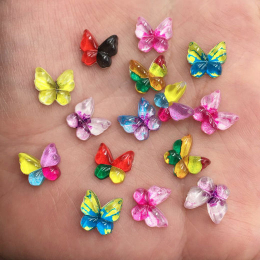 hm-2521.  Бабочки, микс. 5 шт., 10 руб./шт