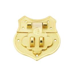 hm-2534. Замок накладной, цвет золото.
