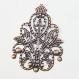 hm-2563. Декоративный элемент, цвет медь.