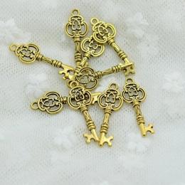 hm-384. Подвеска Ключ, цвет золото. 100 шт., 9 руб/шт